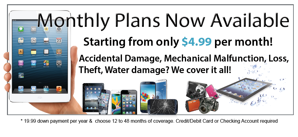 Cell Phone insurance from only $4.99 per month